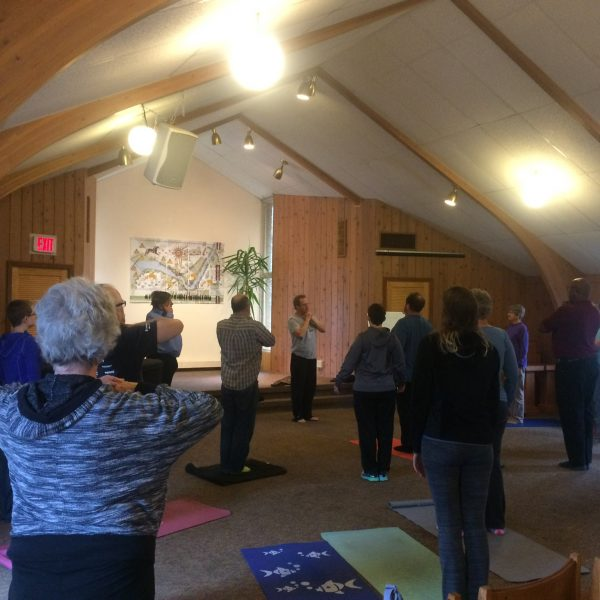 September 3 - Yoga, Potluck, Camaraderie